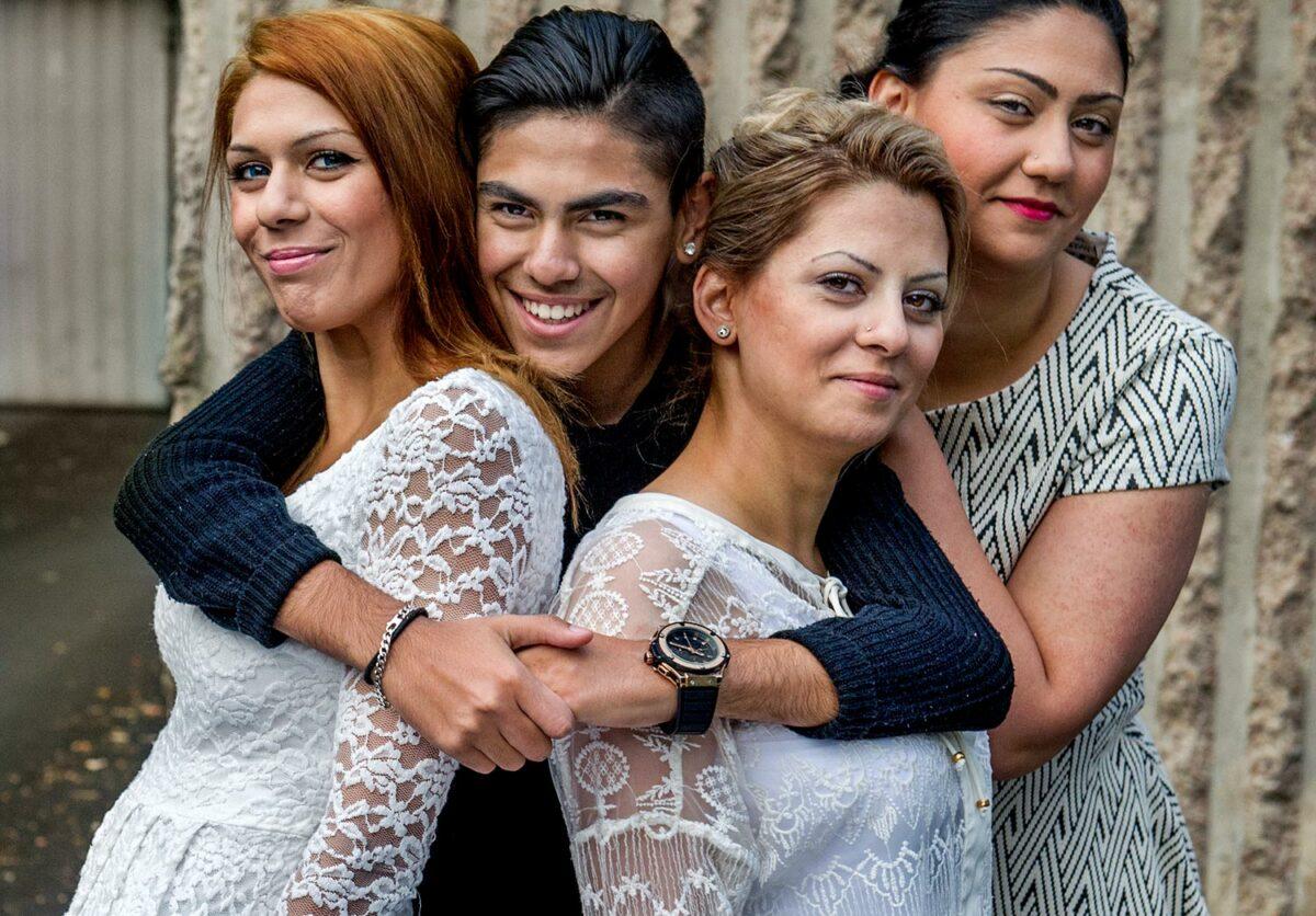 Familjen Hamidi – nu och då