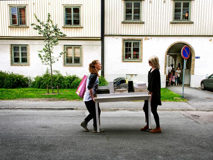 Lisa-Thanner-Caroline Hasl och Martina Menfors