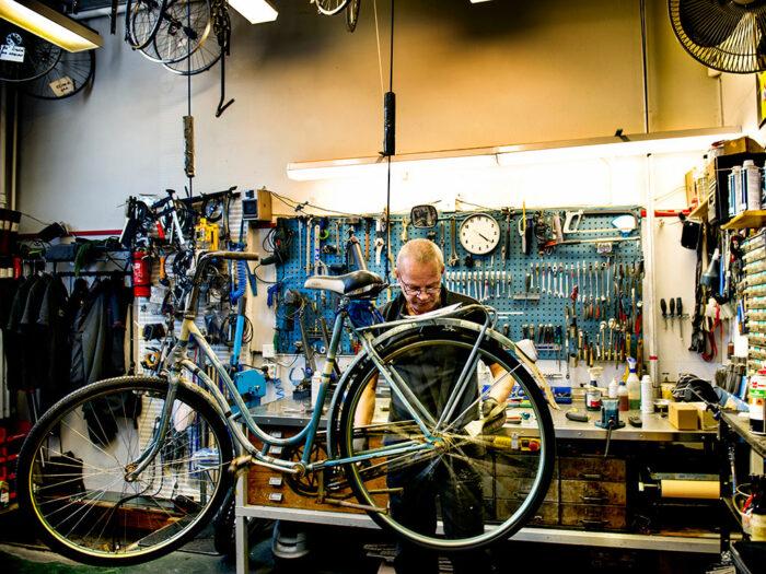 Lisa-Thanner-cykel cykelaffär Stefan Fredriksson
