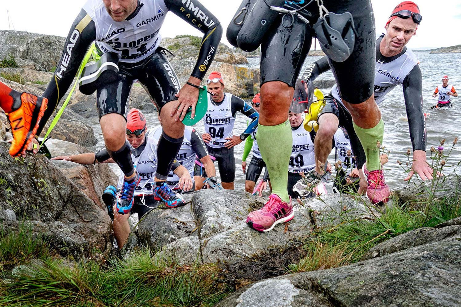 Swimrun Photo by Lisa Thanner