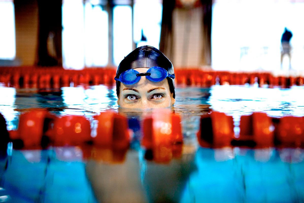 Therese Alshammar OS simning