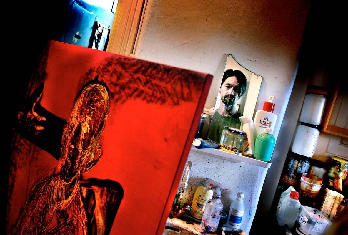 Nils Ramhöj konstnär