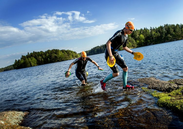 photo by Lisa Thanner swimrun